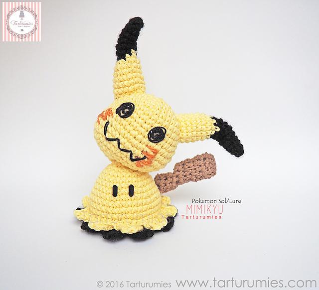 1 parte patrón pikachu Lalylala - Creaciones & Amigurumis Amaral ... | 582x640