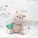 Amigurumis: Hippo / Hipopótamo Melman and Pi pattern