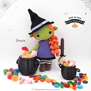 Tsum Tsum Ursula Pattern | Crochet mobile, Crochet disney, Crochet ... | 320x320