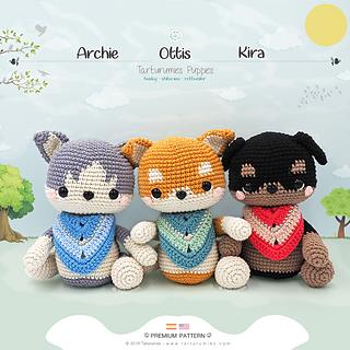 Cute Amigurumi Baby Mouse [FREE Crochet Pattern+Tutorial] | 320x320