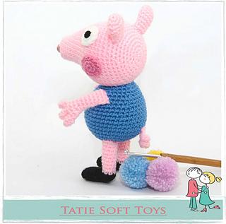 Crochet Peppa Pig Amigurumi Free Patterns | 317x320