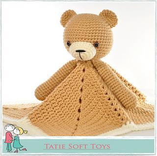 Crochet Mini Bear | 319x320