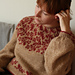 Between petals pullover pattern