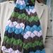 Hoofprints Lace Scarf pattern