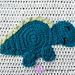 Stegosaurus Applique pattern