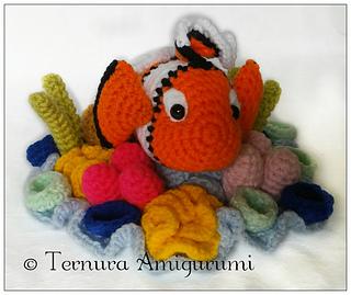 Keme-gurumis - Y el último. Pez payaso ♥ Nemo ♥... | 269x320