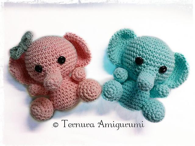 Unir elefante amigurumi de tejido paso a paso - YouTube   480x640