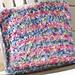 Fuzzy Multi-Striped Pillow pattern