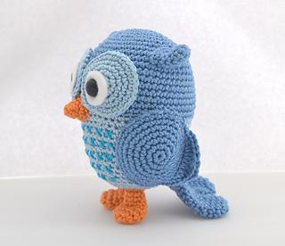 4 Crochet Amigurumi Owl Free Patterns | Häkeln amigurumi eule ... | 276x320