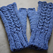 Mock Cable Mittens pattern