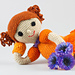 Doll Casey Amigurumi pattern