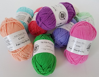 Capri comes in several fun colors.