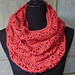 Rouge Infinity Scarf pattern