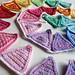 Basic Crochet Rainbow Bunting pattern