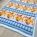Fish Tails Mosaic Blanket pattern