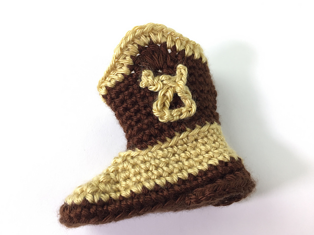Ravelry: Baby Cowboy Booties pattern by
