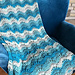 Breaking Waves Afghan pattern
