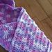 Crochet Hooded Baby Blanket pattern