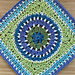 Westminster Afghan Square pattern