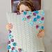 Parchment Meadow Pillow pattern
