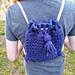 Peek-a-Blue Backpack pattern