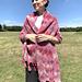 Rose Dreams Entrelac Shawl pattern