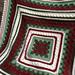 Vintage Christmas Blanket pattern