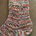 Chena River Travel Socks pattern