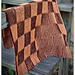 Shadow Checkerboard Baby Blanket pattern