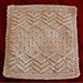 Crazy Seed Dishcloth pattern