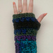Cross Double Fingerless Gloves pattern