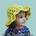 Lazy Daisy Sun Hat Kids pattern