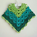 Gemstone Lace Toddler/Child Poncho pattern