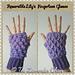 Reversible Lily's Fingerless Gloves pattern