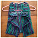 Lacy Waves Toddler Vest pattern