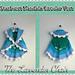 Starburst Mandala Circular Vest Kids pattern