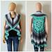 Dreamcatcher Mandala Circular Vest pattern