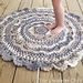Midnight Star Mandala Rug pattern
