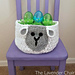 Sam Sheep Easter Basket pattern