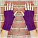 Candace's Cluster Fingerless Gloves pattern