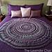 Wagon Wheel Circular Blanket pattern