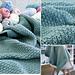 Scottish Raindrops Baby Blanket pattern