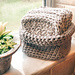 Cotton Cloths and Basket pattern