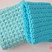 Easy Textured Washcloths pattern