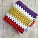 Stashbuster Granny Stripe Afghan pattern