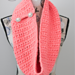 Coral Crush Button Infinity Scarf pattern