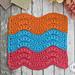 Summer Splash Washcloth pattern