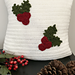 Holly Jolly Christmas Pillow pattern