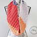 Peach Orchard Infinity Scarf pattern