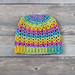Rainbow Love Hat pattern